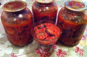 «Тещин язык» с помидорами и сладким перцем