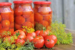 Алтайская засолка помидоров на зиму