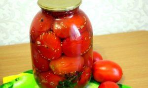 Домашние помидоры на зиму (маринованные с цельными семенами горчицы)