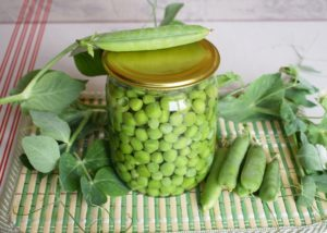 Зелёный горошек натуральный