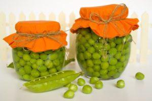 Зелёный горошек с душистым перцем