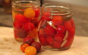 Квашеные помидоры черри на зиму «Горчичные»