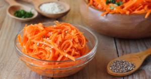 Классическая морковь по-корейски на зиму