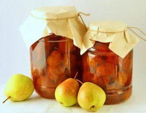Компот из груш с апельсинами