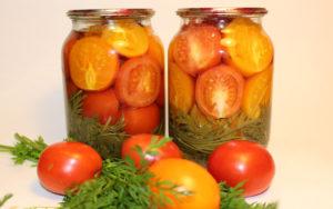 Консервированные помидоры на зиму - тонкости приготовления
