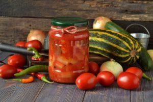Лечо из помидоров на зиму (классическое болгарское лечо)