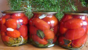 Маринованные помидоры «Пальчики оближешь-2»