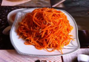 Морковь по корейски на зиму