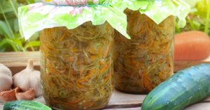 Салат из огурцов на зиму – пальчики оближешь