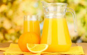 Сок из апельсинов на зиму