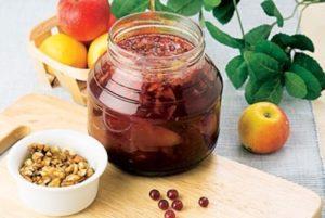 Яблочное варенье на меду